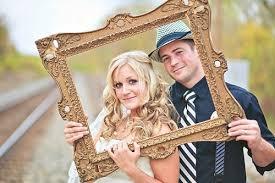 des cadres photos de mariage très originaux blogueuse mode