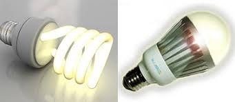 energy efficient lighting led cfl bulb information including