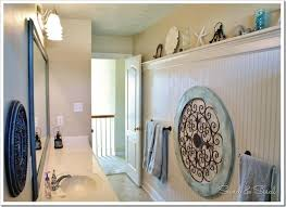 Beachy Bead Board Bathroom With Links To All The How Project Tutorials