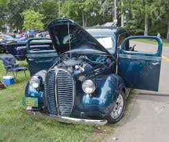 WAUPACA, WI - AUGUST 25: 1938 Ford Pickup Truck At The 10th Annual ... 1938 Ford Custom Pickup Truck 90988 Restored 1931 Model A Ford Ice Cream Truck Now A Museum Piece 1937 Truck Wicked Hot Rods Pickup V8 85 Hp Black W Green Int For Sale 2068076 Hemmings Motor News Paint Chips Sale Classiccarscom Cc814567 Stored 50 Years To 1940 On S286 Houston 2013 38 Hood Chopped Hotrod Youtube