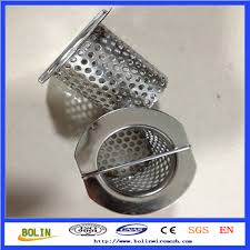 stainless steel mesh sink strainer drain stopper trap kitchen
