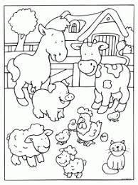 Farm Animal Coloring Page 2