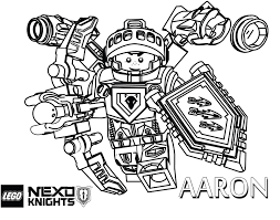 Prissy Ideas Lego Coloring Pages LEGO Nexo Knights Free Printable