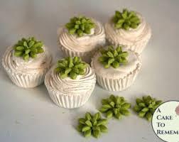 12 Little Edible Succulents For Mini Cupcakes 3 4 1 Wide