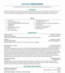 Resume Objective For Student Sample