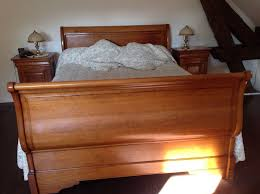 chambre louis philippe merisier massif achetez chambre à coucher occasion annonce vente à quentin