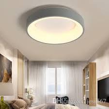 großhandel moderne runder kreis led deckenleuchte deckenmontage rundringleuchte für foyer schlafzimmer küchen dekor beleuchtungskörper jess567