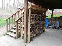 Ana White Wood Shed Plans by Ana White Firewood Shed Using Round Posts And 2x4s Diy Projects