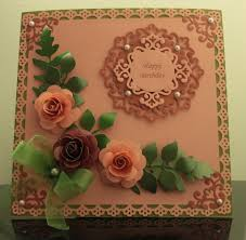 Paper Roses Card 2