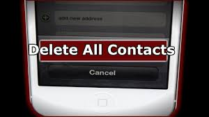How To Delete All iPhone Contacts The Easy Way Shown The
