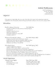 Sample Resume Objective Statements For Nurses Cashier Examples Example Job Cover Retail Jobs Letter Restaurant Ca