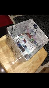 How To Make A Woven Newspaper Box