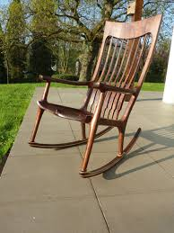 A Short Maloof Style Rocking Chair - FineWoodworking 10 Best Rocking Chairs 2019 Building A Modern Plywood Chair From One Sheet White Baby Rabbit With Short Ears Sitting On Wood Armchairs Recliner Ikea Striped Upholstered Mahogany Framed Parts Of Hunker Uhuru Fniture Colctibles Sold Rocker 30 The Thing I Wish Knew Before Buying For Our Buy Living Room Online At Overstock Find More Inoutdoor Classic Wooden Like Hack Strandmon Diy Wingback Interiors