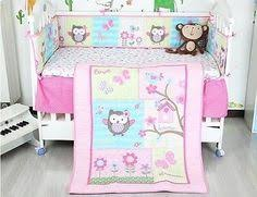 Zspmed of Owl Crib Bedding Set