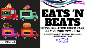 Eats N Beats At Pittsburgh Food Truck Park, Millvale