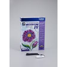 Brother PE Design 10 Embroidery Software UPGRADE VERSION at Ken s