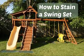 How To Stain A Swing Set {& HomeRight Finish Max Pro Giveaway ... Srtspower Outdoor Super First Metal Swing Set Walmartcom Remarkable Sets For Small Backyard Images Design Ideas Adventures Play California Swnthings Decorating Interesting Wooden Playsets Modern Backyards Splendid The Discovery Atlantis Is A Great Homemade Swing Set Google Search Outdoor Living Pinterest How To Stain A Homeright Finish Max Pro Giveaway Sunny Simple Life Making The Most Of Dayton Cedar Garden Cute Clearance And Kids Chairs Gorilla Free Standing Review From Arizona