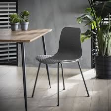 maia esszimmerstuhl kunststoff grau gratis versand