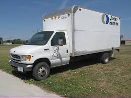 100 Box Truck Rentals 2002 Ford E450 Super Duty Box Truck Item B5158 SOLD Wed
