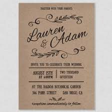 Rustic Wedding Invitation Templates Drop Dead DIY Idea Free 10