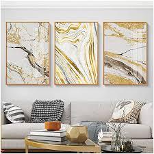 a d abstrakte berühmte leinwand malerei moderne gold poster und drucke mode wandbilder für wohnzimmer 50x70 cm kein rahmen