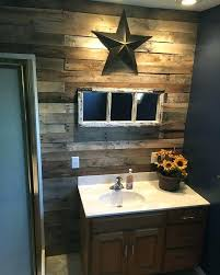 Wall Decor For Small Bathroom Best Rustic Bathrooms Ideas On Cabin Gorgeous