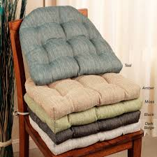 Furniture: Chair Cushions Luxury Chair Pads For Rocking Chairs Thick ...