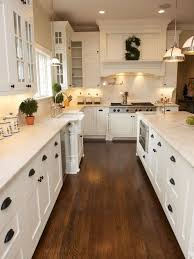 Inspiring White Kitchen Cabinet Ideas With Rustic Style