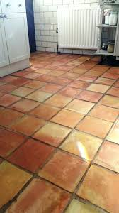 polishing terracotta floor tiles terracotta tile after cleaning
