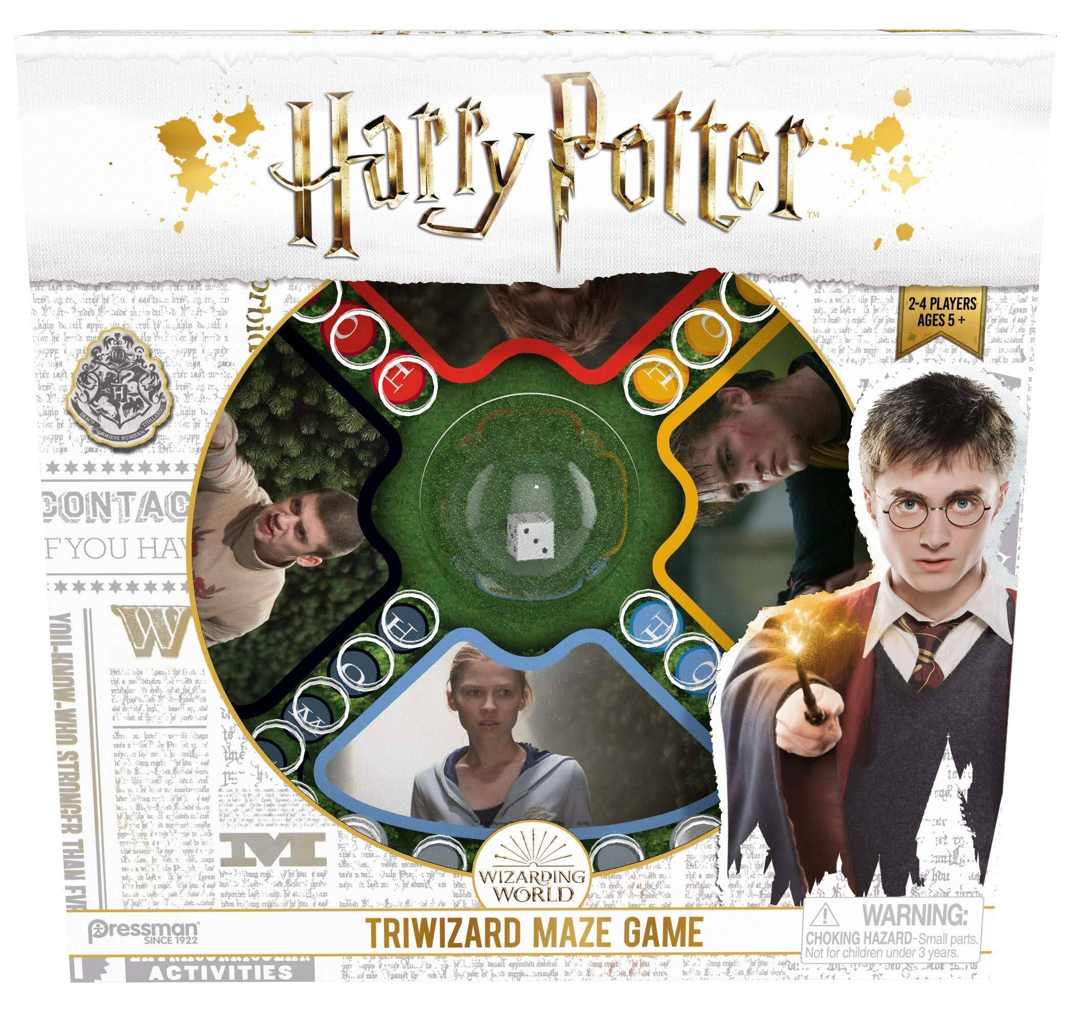 Harry Potter Tri-Wizard Tournament Board Game - Hogwarts Wizard Witch Goblet Fire