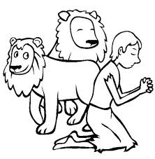 Daniel And The Lions Den Coloring Pages 16 22685