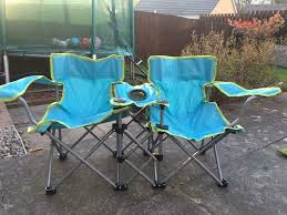Kids Twin Camping Chairs With Bag | In Pontyclun, Rhondda Cynon Taf |  Gumtree