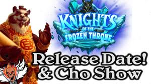 Alarm O Bot Deck Lich King by Release Date Announced For Knights Of The Frozen Throne