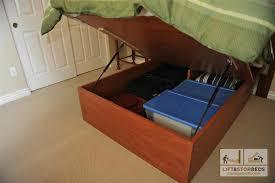 47 Platform Bed Diy With Storage DIY Queen Storage Bed Frame Best