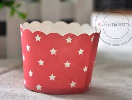 Free Shipping Red Pentagram Star Horse Cupcake Decorations Beautiful Cake Cup Cupcakes Liners Case Trays Cups For Kids Party In Other Tools From Home