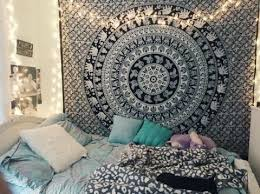 Dorm Room Ideas College Dorms Decor And Tapestry Bedroom Cool Mandala Tapestries By JaipurHandloom Com 77