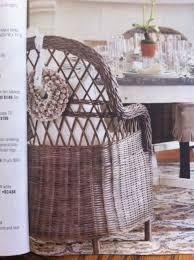 Hand Woven Wicker Dining Chair. Ballard Designs