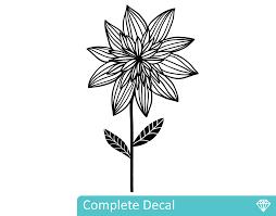 Wall Mural Decals Flowers by Wild Flower U2013 Your Decal Shop Nz Designer Wall Art Decals Wall