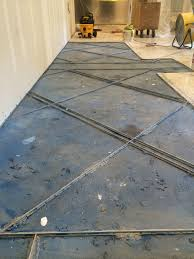 terrazzo flooring guard