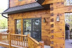 See What Your Log Home Would Look Like With Different Colors