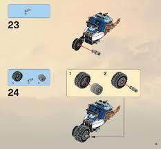 100 Fangpyre Truck Ambush LEGO Instructions 9445 Ninjago