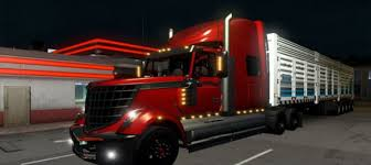 100 Lonestar Truck International V 230 ATS Mod American