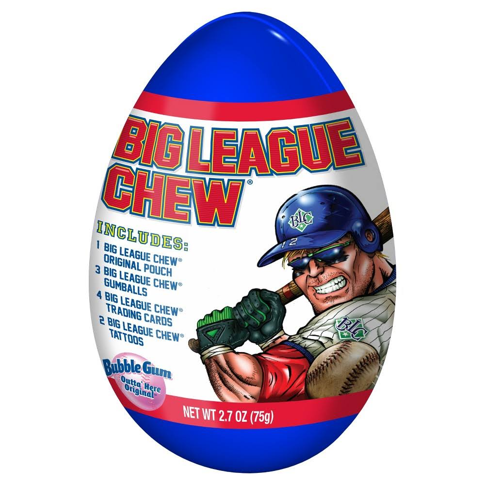 Big League Chew Giant Easter Egg - 2.7oz