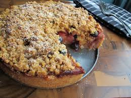 Apple Blueberry Pie Cake Recipe