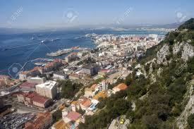 100 Birdview Over Gibraltar Seen From The Rock