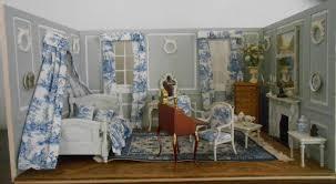 chambre louis xvi miniature chambre toile de jouy