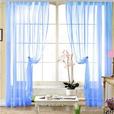 Blue Crushed Voile Curtains by Indian Voile Curtains Indian Voile Curtains Suppliers And
