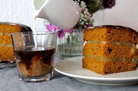 hallo herbst kürbis kuchen mit apfel cidre füllung