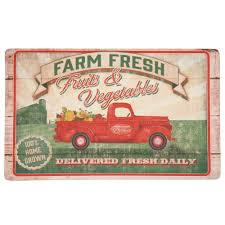 100 Truck Mat Mohawk Home Vegetable S Multi 18 In X 30 In Kitchen