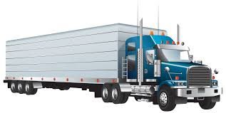 Semi Truck Vector PNG Clipart - Download Free Images In PNG